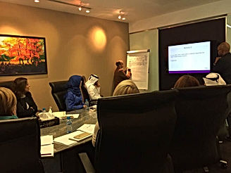 Social media masterclass in Qatar