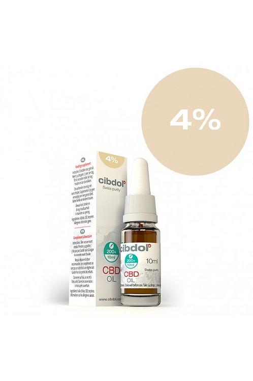 CBD Oil 10ml 4% CBD (368mg)