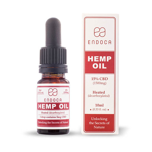 Hemp Oil Drops 1500mg CBD (Cannabidiol)(15%)