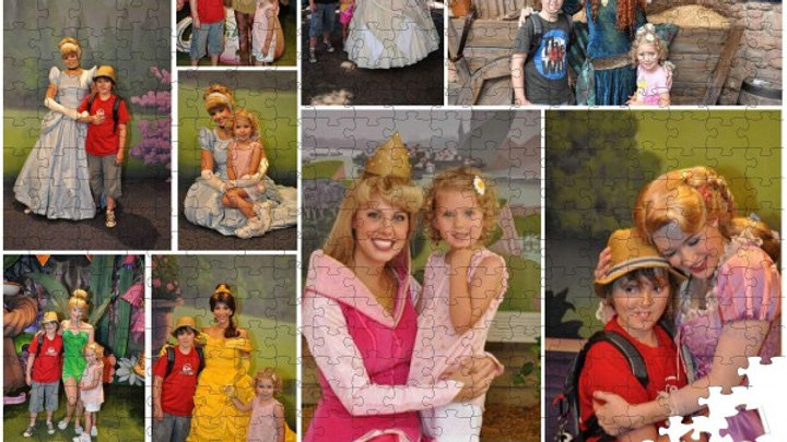 1000 PIECES personalised MOSAIC photo collage jigsaw puzzle