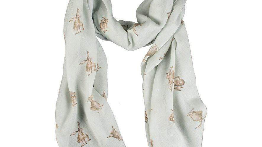 Hannah Dale for Wrendale 'Leaping Hares' Scarf