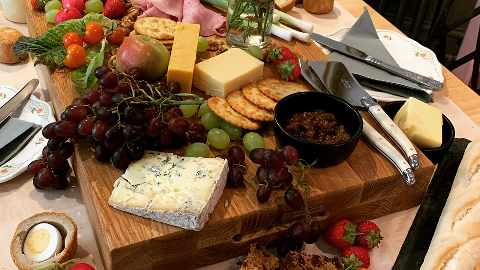 Foresters Grazing Table (per person)