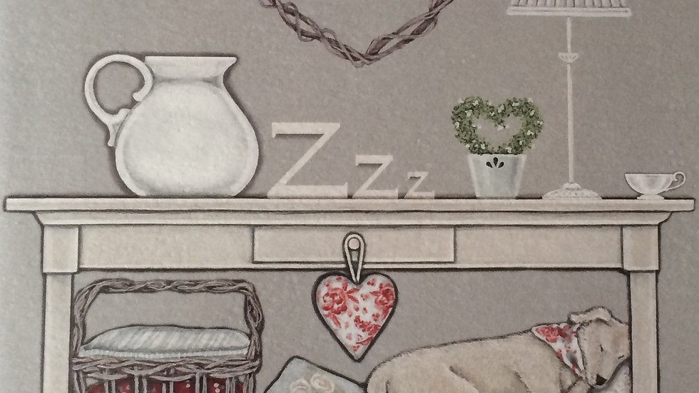 Sally Swannell  'Forty Winks' greeting card