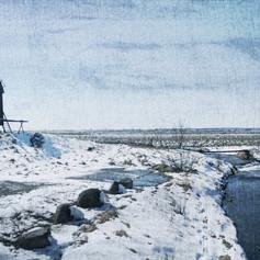 Impression(ism) of Landscape-The Windmill II