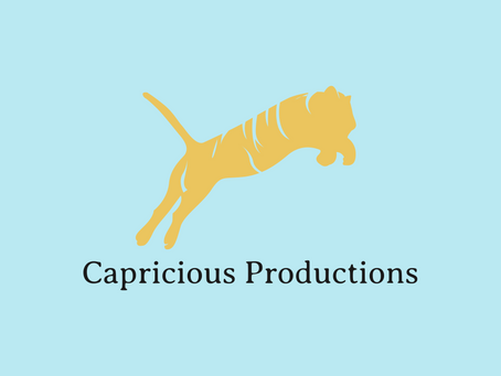 CAPRICIOUS PRODUCTIONS WEBSITE UPDATE