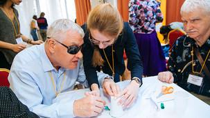 Если вы знаете слепоглухих — расскажите им о Фонде «Со-единение»