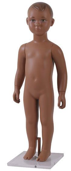 Manequim infanto juvenil teen kids unissex pra vitrine na cor de pele ou nude ou moreno ou negro com cabeça em rotomoldagem ou fibra de vidro