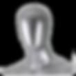 Cabeça de manequim masculino e feminino para vitrine