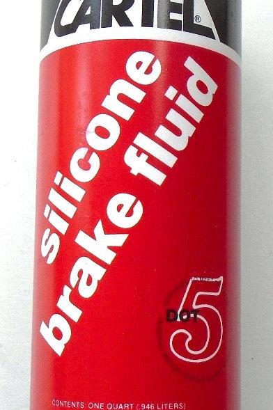 Brake Fluid - Silicone