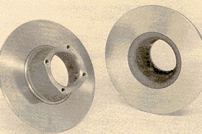 Brake Rotor - Front - Brembo - Disc Wheel