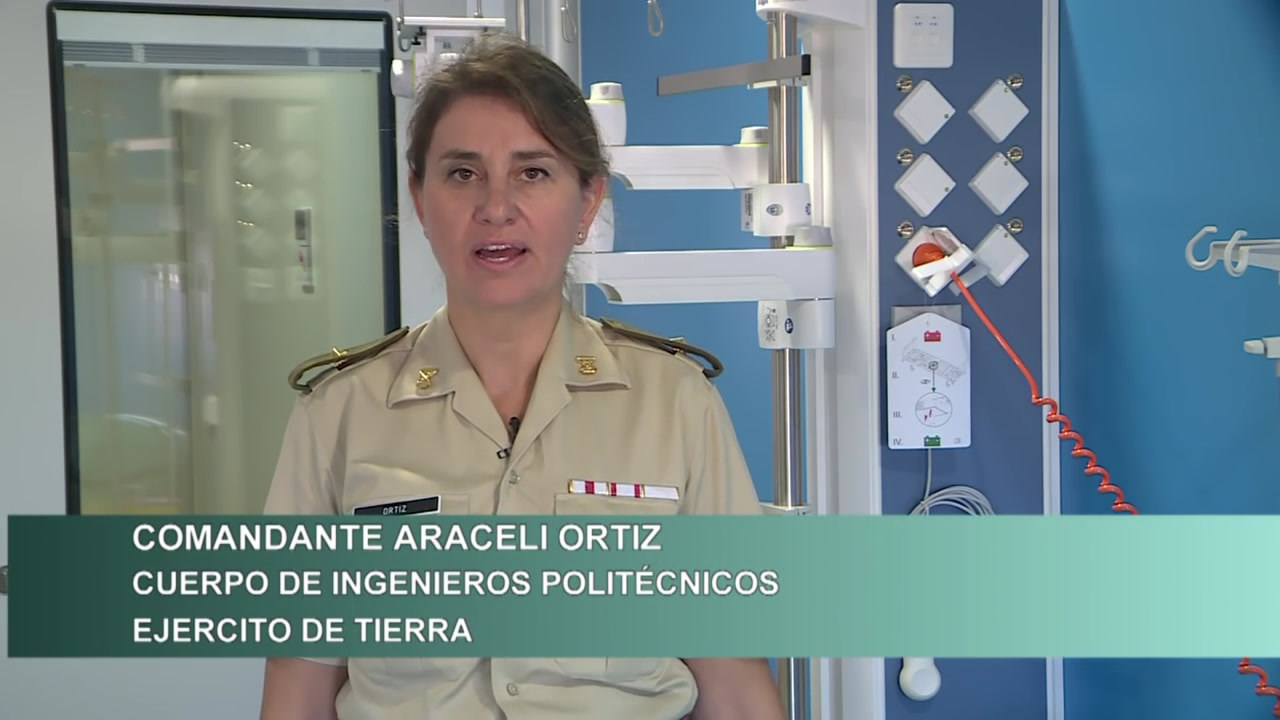 La Planta 22 del 'Hospital Gómez Ulla'