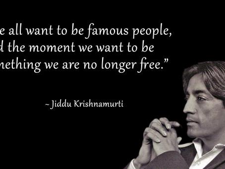 Jiddu Krišnamurti II dalis - Savęs tyrinėjimas.Paprastumas  ir kuklumas.Sąlygotumas