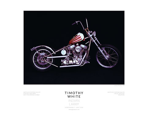 Grease Monkey Motorcycle Poster by Timothy White