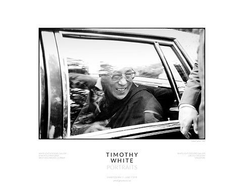 Dalai Lama Poster by Timothy White