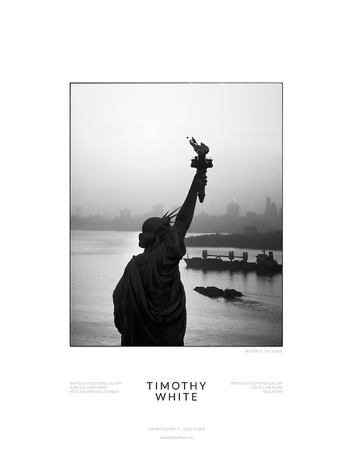 """""""Keeper of the Flame"""" Statue of Liberty Poster by Timothy White"""