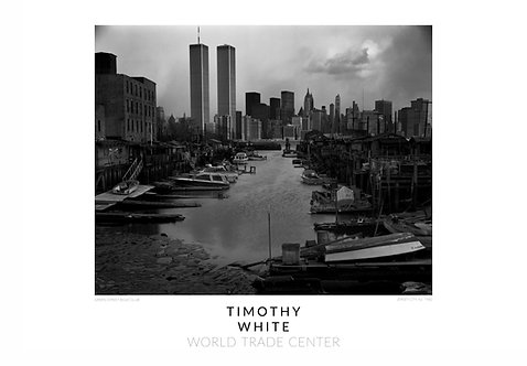 """The Greene Street Boat Club"" World Trade Center Poster by Timothy White"