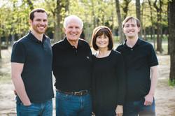 Dave Jewitt and Family Janice, Jeremey and Jeffery