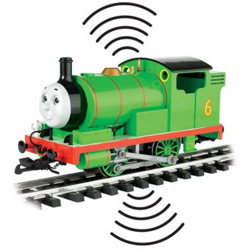 "Bachmann 91422 ""Percy"" with Moving Eyes Steam Locomotive DC/DCC Sound"