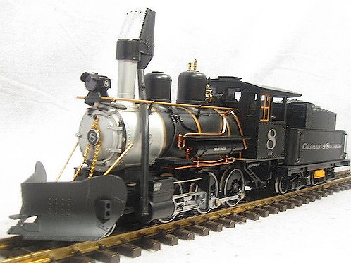 SOLD 9-17-2021   LGB  23192 C&S #8 Mogul Locomotive with Sound