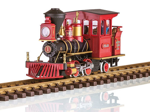 "LGB 23131 GRIZZLY FLATS ""CHLOE"" STEAM LOCOMOTIVE DC Power - No Sound"