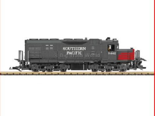 "LGB 25558 Southern Pacific SD40 Diesel Locomotive ""Red & Gray Bloodynose"" with"