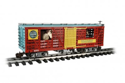 Bachmann 92719 Ringling Bros. Barnum & Bailey Animated Horse Stock Car