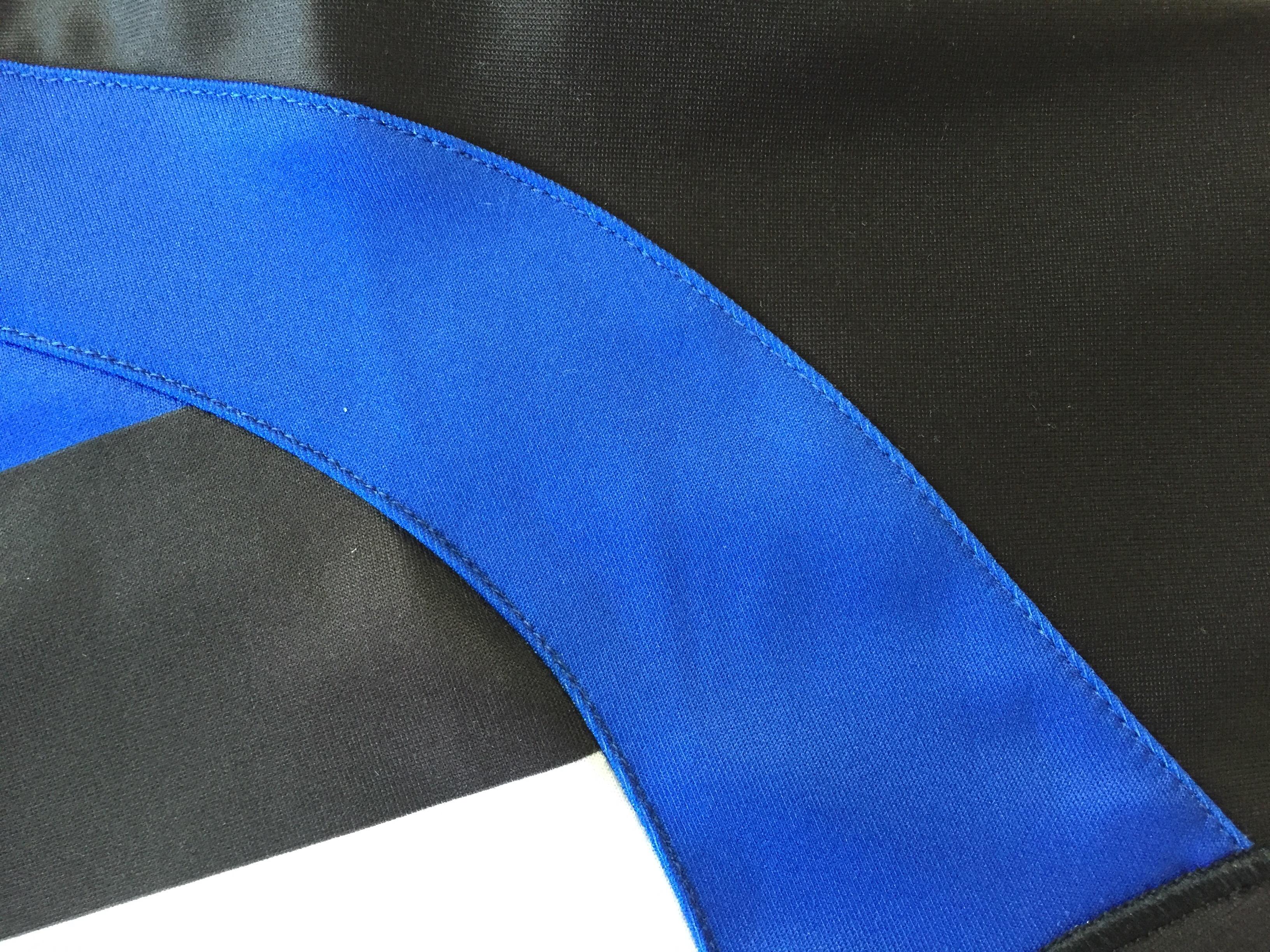 Flat Stitch Detail