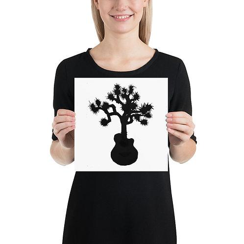 Janell Crampton Logo Silhouette Poster