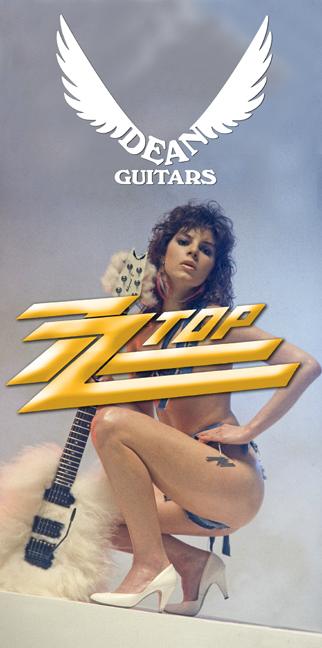 dean guitar zztop