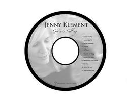 Jenny Klement disc art