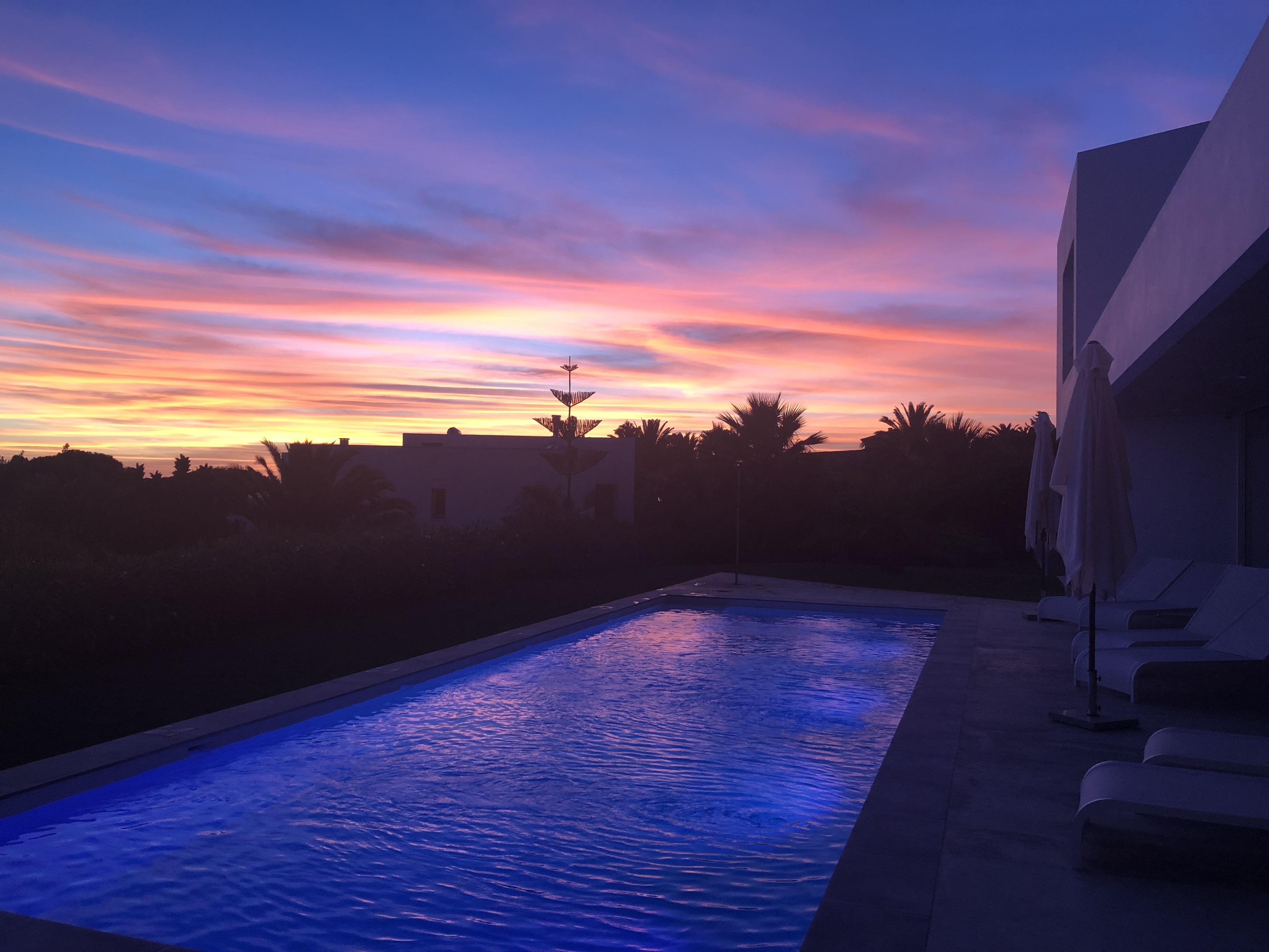 Sonnenuntergang in tausend Farben