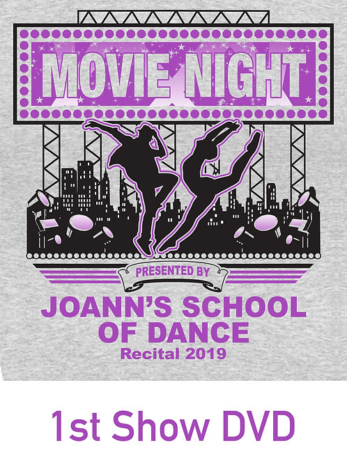 JSD Recital 2019 - 1st Show DVD