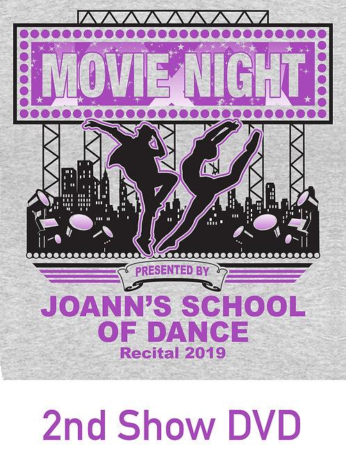 JSD Recital 2019 - 2nd Show DVD