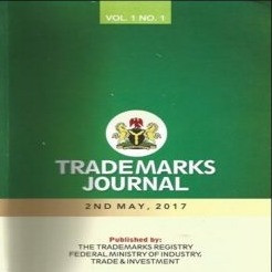 New 2017 Nigerian Trade Mark Journal