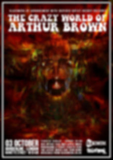 the crazy world of arthur brown october