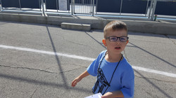 Nicholas at Holy Family Cathedral School Walk-a-Thon 2017!