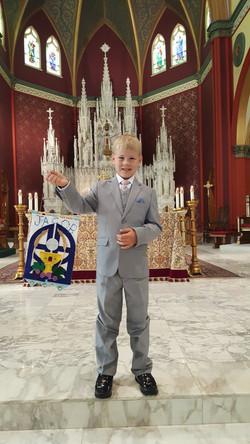 Jacob's First Communion!