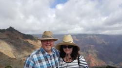 Waimea Canyon on the Island of Kuai, Hawaii