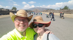 Troy and Maria Visit the Pyramids near Mexico City