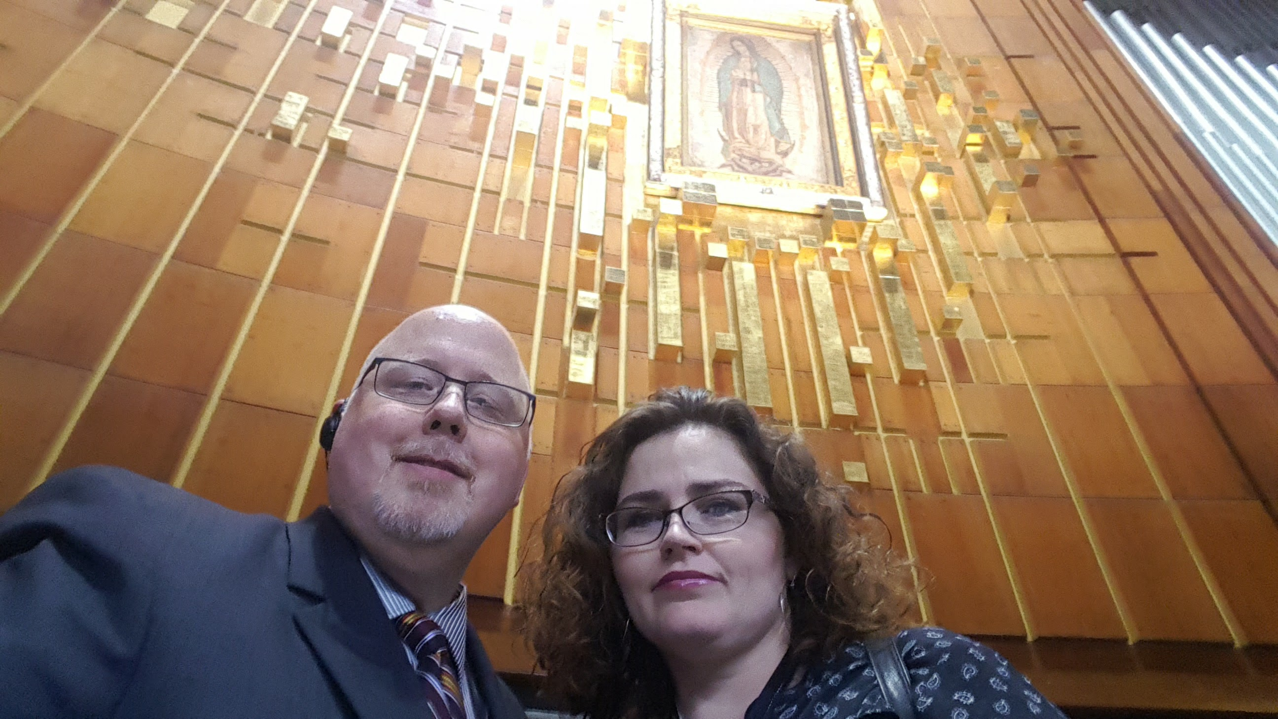 Troy and Maria visit the Basilica of Our Lady of Guadalupe