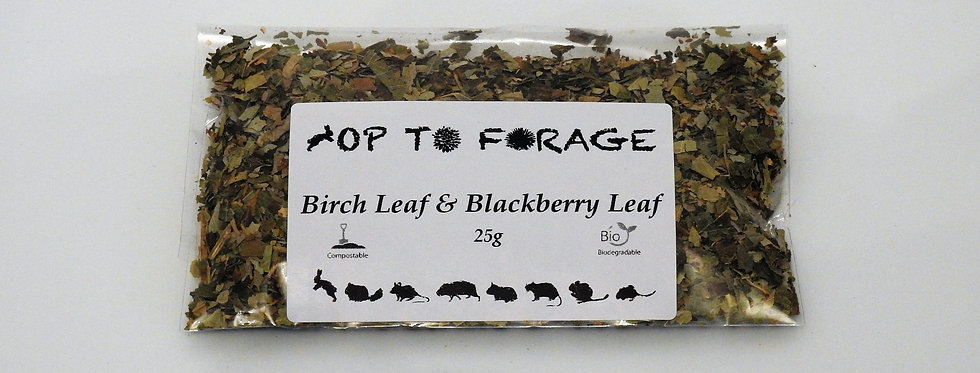 Birch Leaf & Blackberry Leaf (25g)