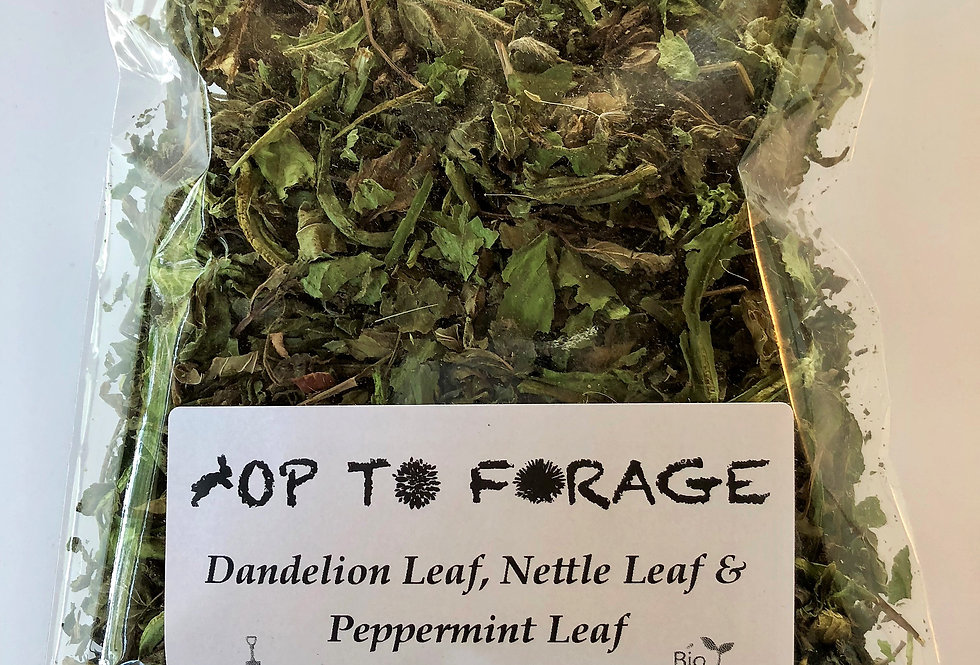 Dandelion Leaf, Nettle Leaf & Peppermint Leaf (25g)