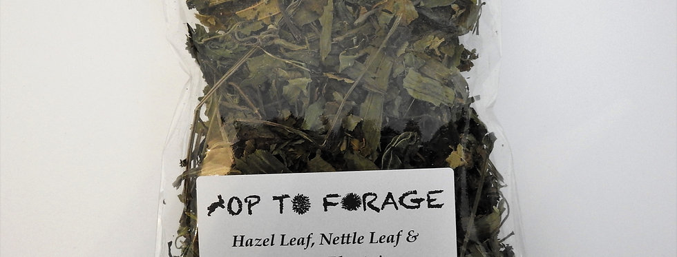Hazel Leaf, Nettle Leaf & Ribwort Plantain (25g)