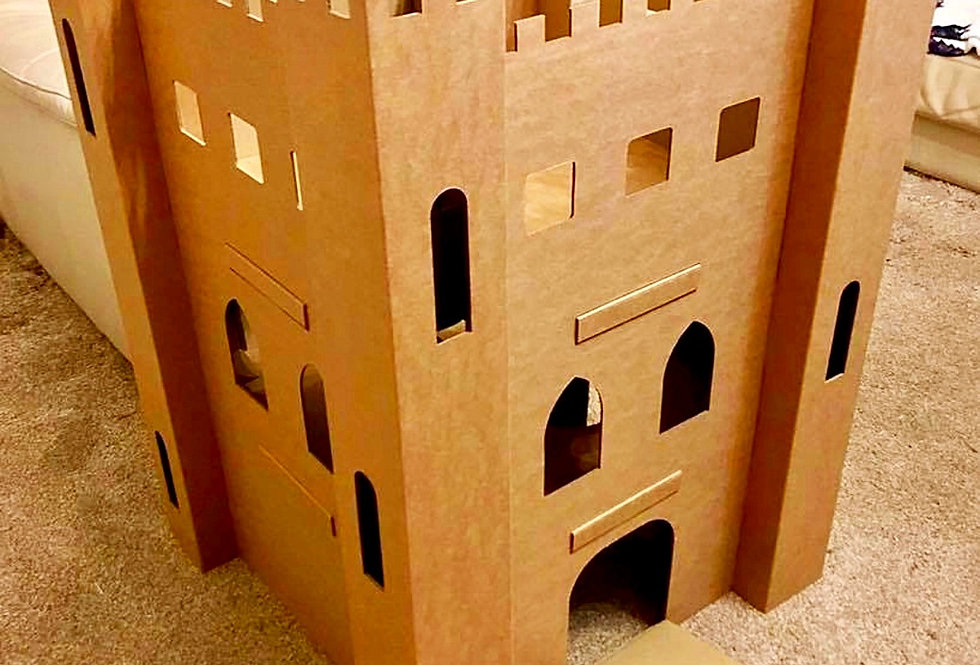 Cardboard Pet Castle *LOW IN STOCK*