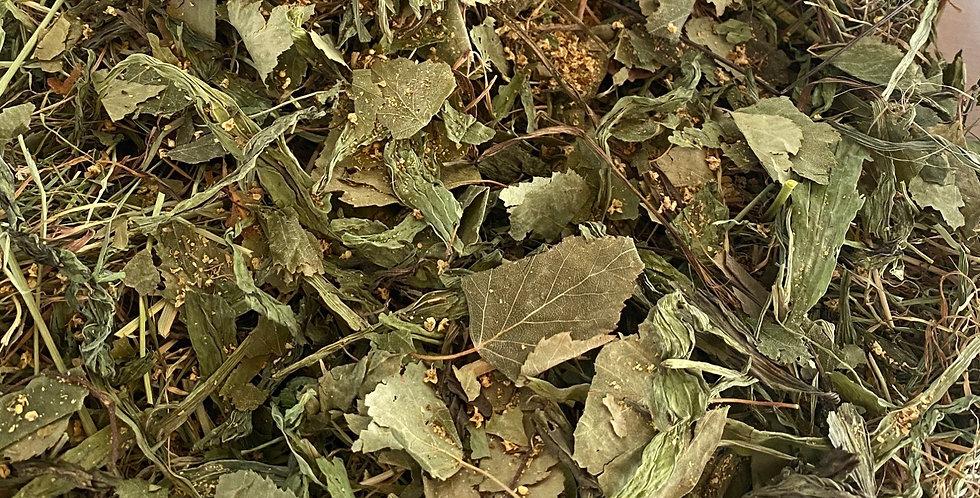 Elderflower, Birch Leaf & Plantain Hay Blend (100g)