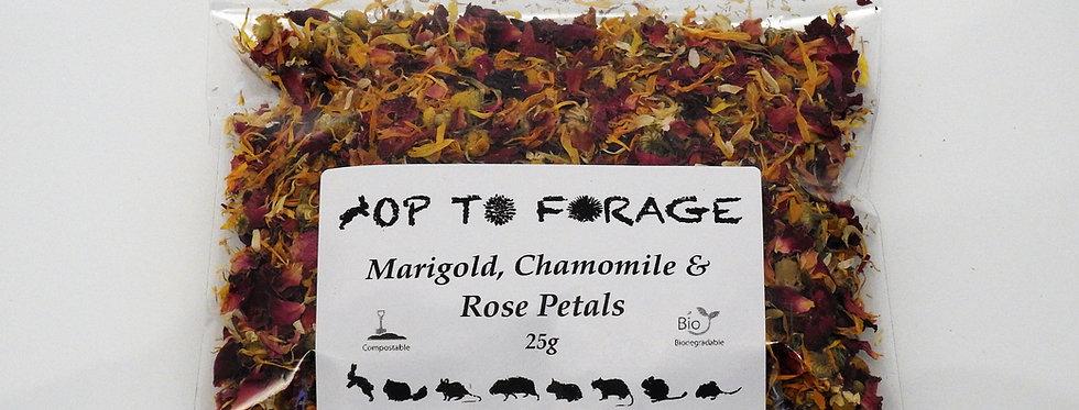Marigold, Chamomile & Rose Petals (25g)