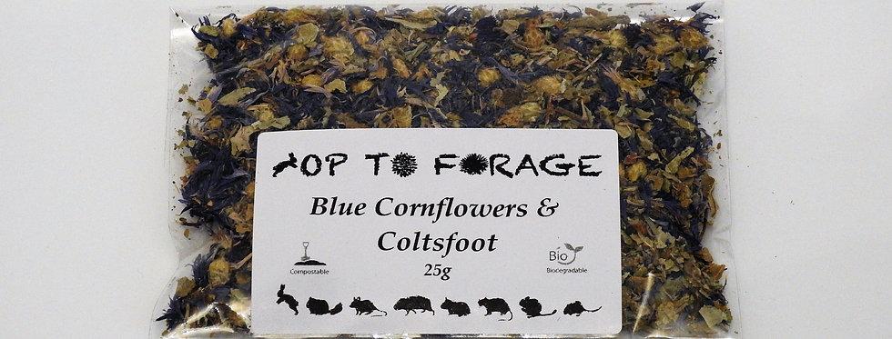Blue Cornflowers & Coltsfoot (25g)