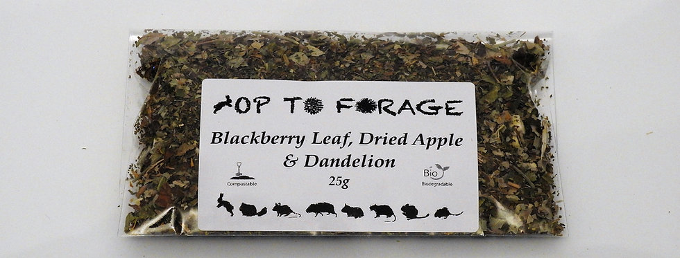 Blackberry Leaf, Dried Apple & Dandelion (25g)