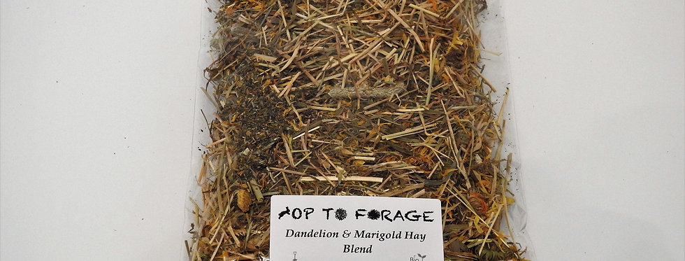 Dandelion & Marigold Hay Blend (100g)