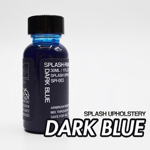 Splash Upholstery Dark Blue